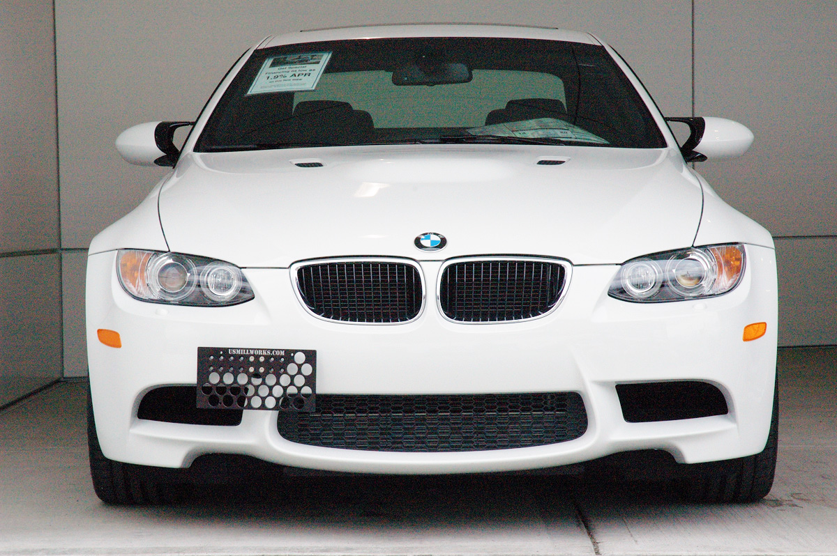 Bmw front license plate holder