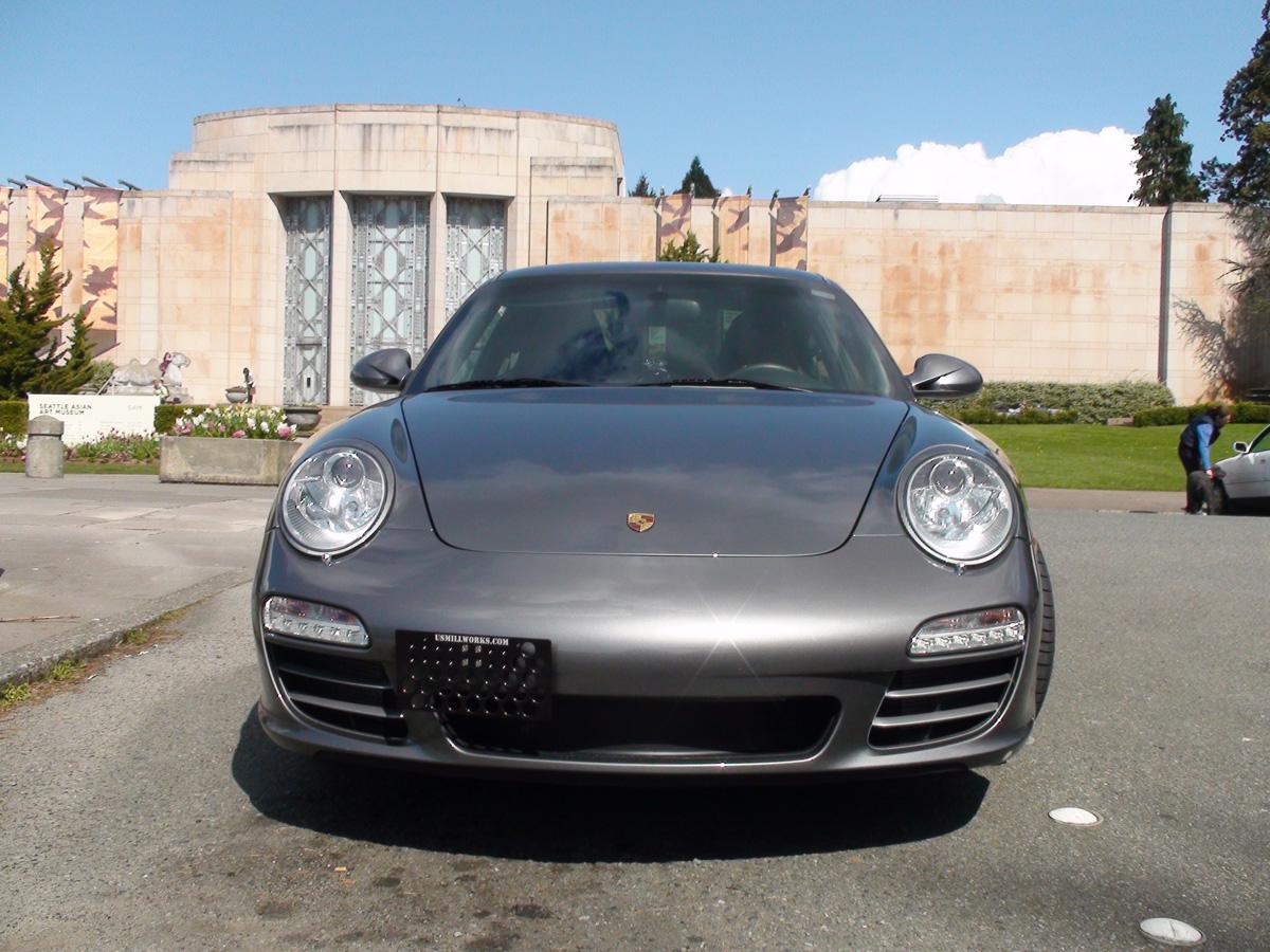 Us Mill Works Porsche Front License Plate Brackets
